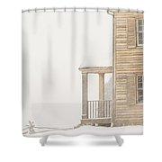 Blizzard Shower Curtain