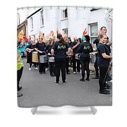 Blocco Drummers Rye Shower Curtain