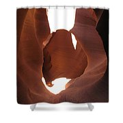 Blocked Canyon Shower Curtain