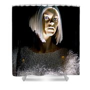 Blonde Highlights Shower Curtain
