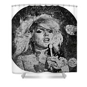 Blondie - Heart Of Glass Shower Curtain