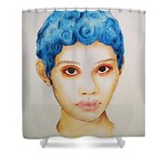 Bloo Shower Curtain
