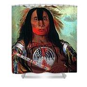Blood Head Chief, 1832 Shower Curtain