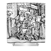 Bloodletting, 1540 Shower Curtain
