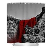 Bloodriver Shower Curtain