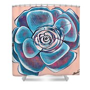 Bloom I Shower Curtain by Shadia Derbyshire