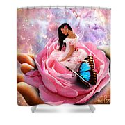 Bloom In The Hand Of The Father Shower Curtain