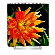 Bloom Tine Shower Curtain