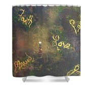 Bloom Where You're Planted II Shower Curtain