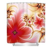 Blooming Shower Curtain