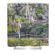 Blooming Azaleias Shower Curtain