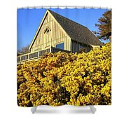 Blooming Bandon Broom Shower Curtain