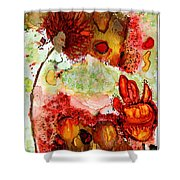 Blooming Impressions.. Shower Curtain