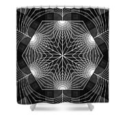 Blossom Cube Shower Curtain