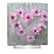 Blossoming Love Shower Curtain