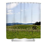 Blossoms In Spring Shower Curtain