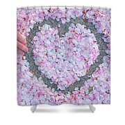 Blossoms Of Love - Cherry Blossoms 2013 - 071 Shower Curtain