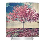 Blossoms Of Spring Shower Curtain