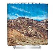 Blotchy Foothills Shower Curtain