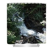 Blow Me Down Brook Shower Curtain