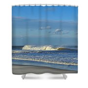Blowin' In The Wind Seaside Heights New Jersey Shower Curtain