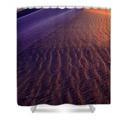 Blowing Sand At Death Valley Shower Curtain