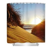 Blowing Sand Dune 12 11/03 Shower Curtain