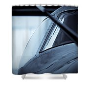 Blue 12 Shower Curtain