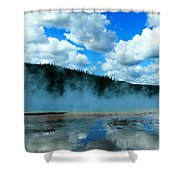 Blue And More Blue Shower Curtain