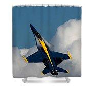 Blue Angel 6 Condensation Climb Shower Curtain
