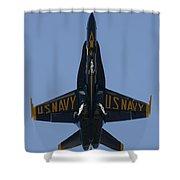 Blue Angel F/a-18 Shower Curtain