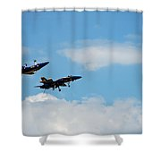 Blue Angels 1 Shower Curtain