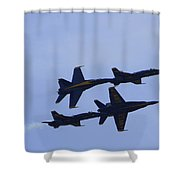 Blue Angels 10 Shower Curtain