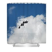 Blue Angels 2 Shower Curtain