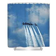 Blue Angels 3 Shower Curtain