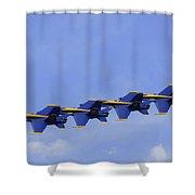 Blue Angels 7 Shower Curtain
