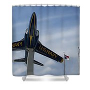 Blue Angels Tribute Shower Curtain