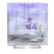 Blue Bells Shower Curtain