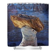 Blue Valley Hoodoo Shower Curtain