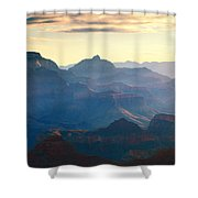 Blue Canyon Shower Curtain
