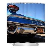 Blue Car Bumper Havana Shower Curtain