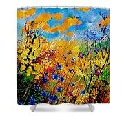Blue Cornflowers 450408 Shower Curtain