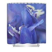 Blue Delight Shower Curtain