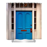 Blue Door 19 Shower Curtain