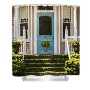 Blue Door  Ivy Stairs Shower Curtain