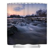 Blue Dream Shower Curtain