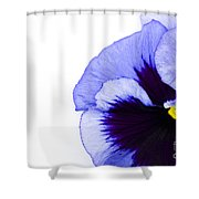 Blue Frost Shower Curtain