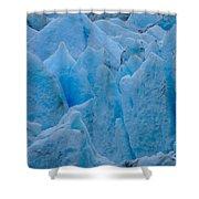 Blue Glacier Shower Curtain