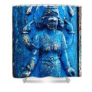 Blue Goddess Shower Curtain