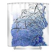 Blue Grass Shower Curtain